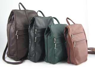 Leather Backpack purses from Maple Leather Company and GreatBags
