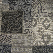 767 in 413 Leafy Block Print Fabric